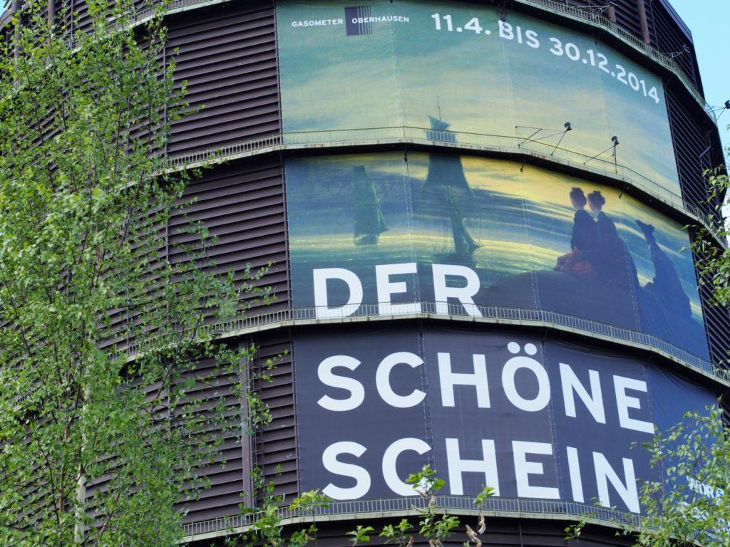 """""""Der schöne Schein"""" Austellung Gasometer Oberhausen"""